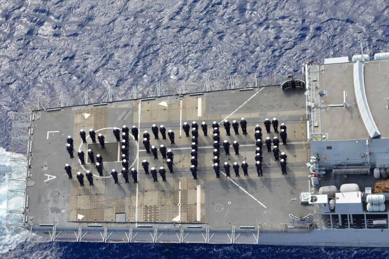 ROYAL BABY: British Navy welcomes 'sister'