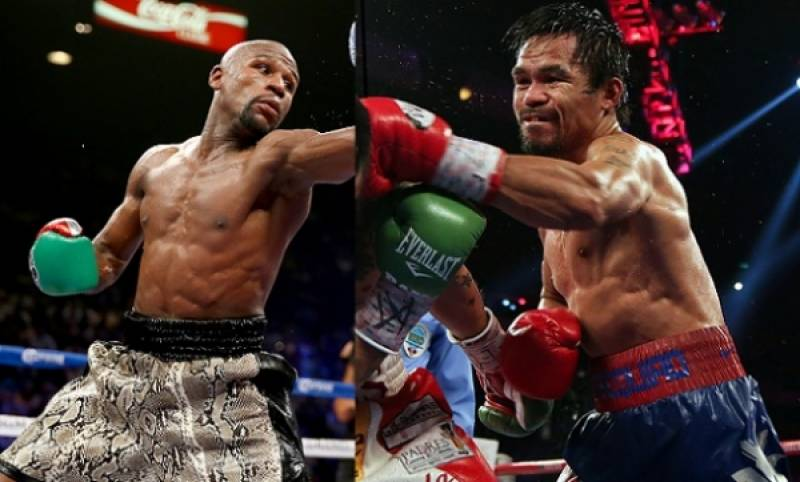THE BIGGEST FIGHT: Mayweather faces Pacquiao in Vegas