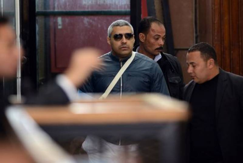 Amnesty: Egypt using courts, jail to stifle journalism