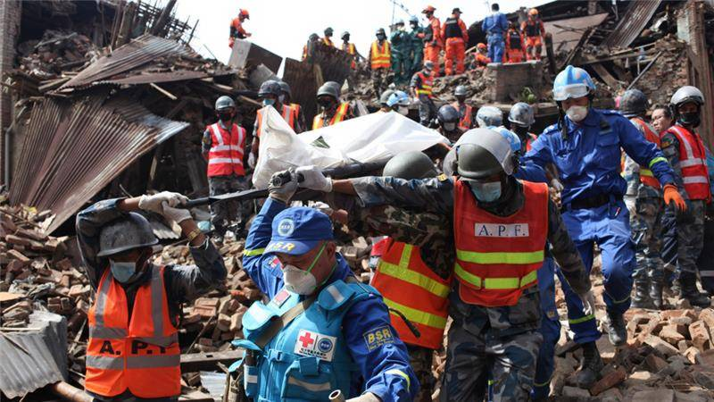 NEPAL QUAKE AFTERMATH: 101 years old among three found alive after 8 days