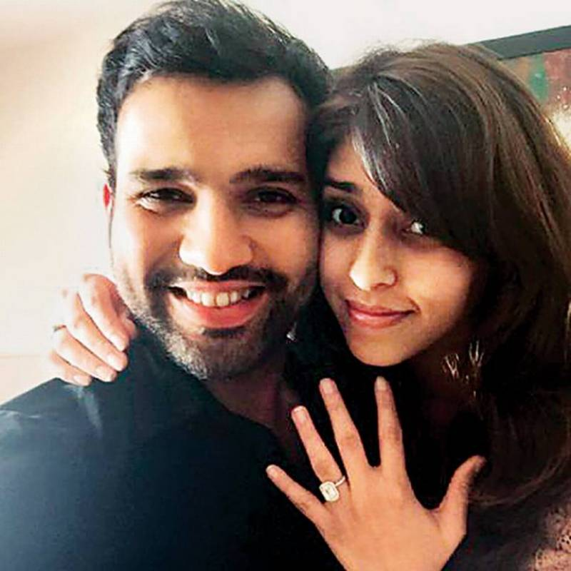 Rohit Sharma engaged to his sports manager