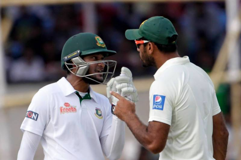 Wahab, Shakib fined for 'pointing fingers' at each other