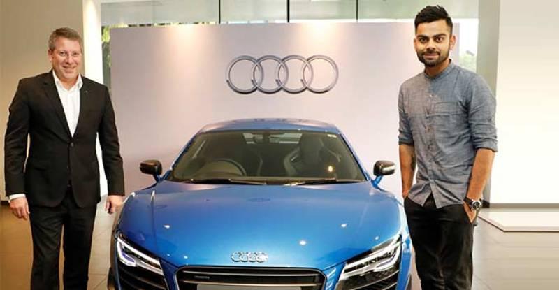 Virat Kohli now owns one of the fastest Audi ever