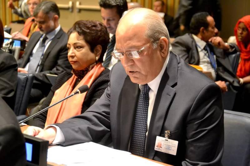 Pakistan stresses int'l arrangement at UN forum on Forests