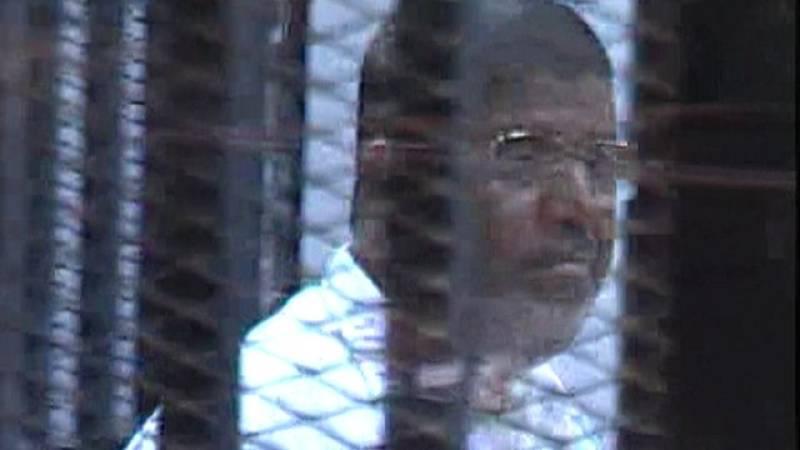 US concerned over Morsi's death sentence decision