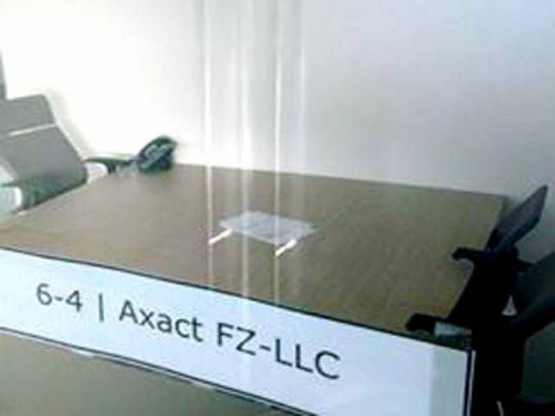 Axact's head office in Dubai closed for last two years