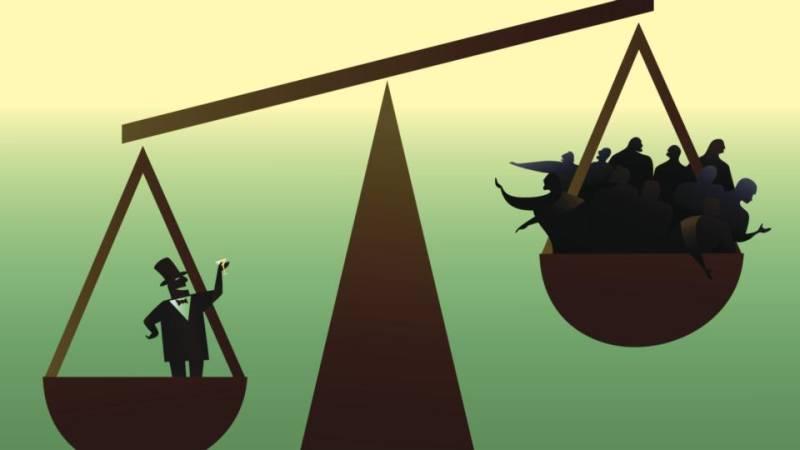 Gap between rich and poor 'keeps widening'