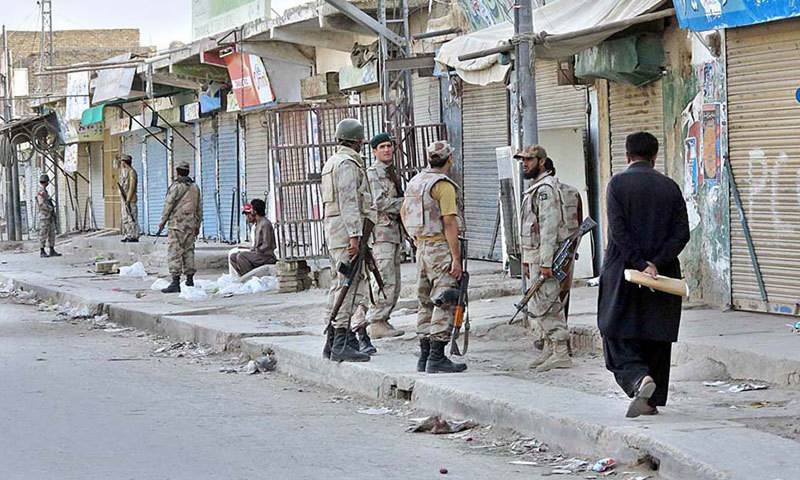 29 militants killed in Balochistan crackdown