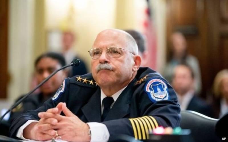 US Capitol police under toilet training