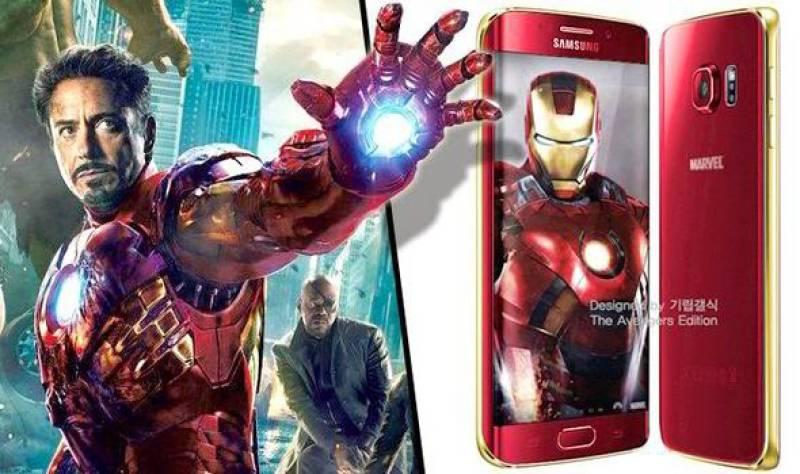 Iron Man themed Galaxy S6 edge unveiled