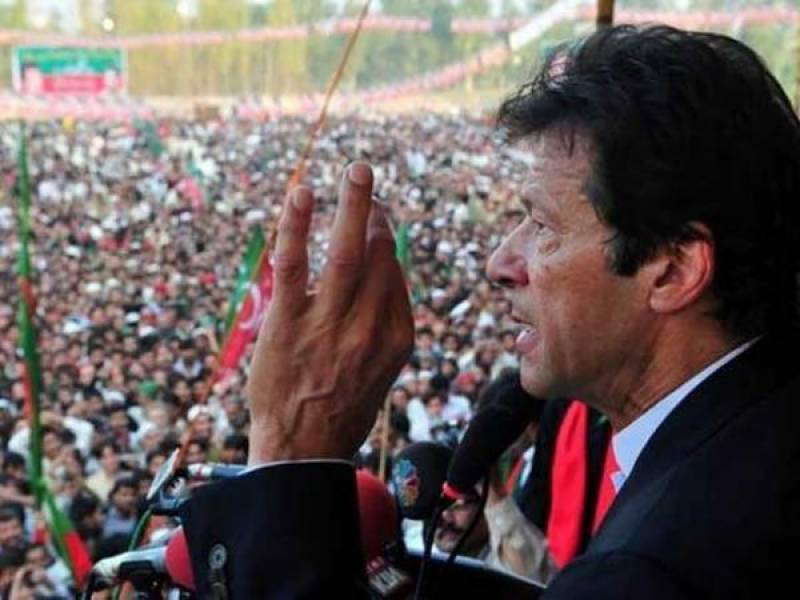 Imran links local government system with 'change'