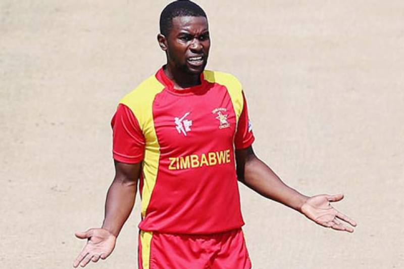 Zimbabwe's Chigumbura slapped with two-match suspension
