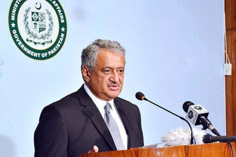 Modi's anti-Pakistan remarks confirm India's negative role: FO