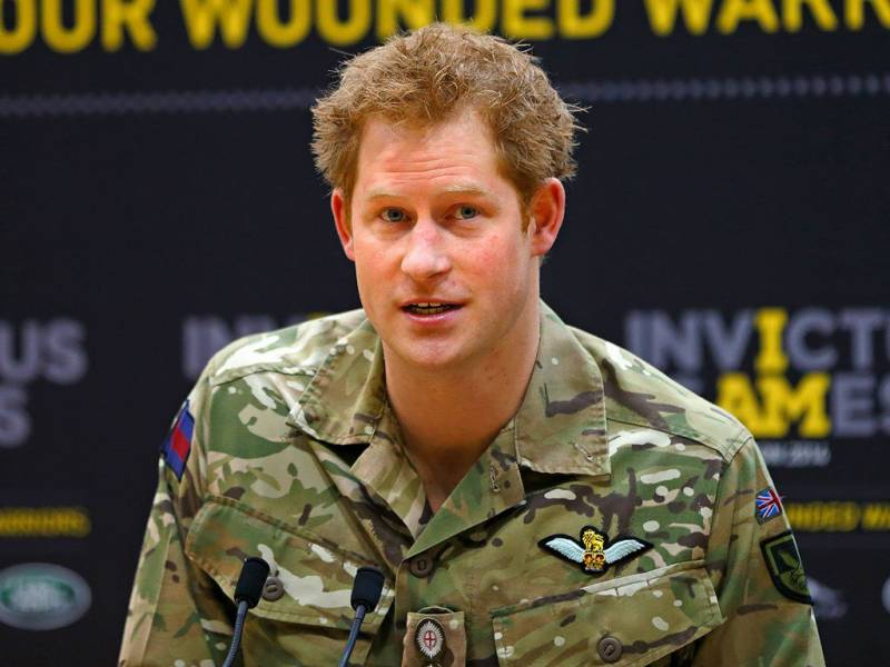 After spending 10 years Prince Harry ends military career