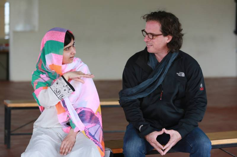 The first look of upcoming documentary on Malala's life