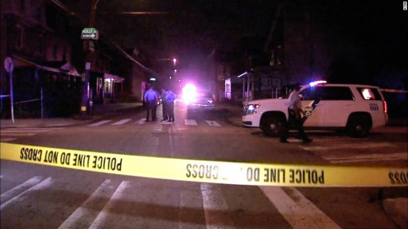 US gun violence: Three children among ten shot in Philadelphia
