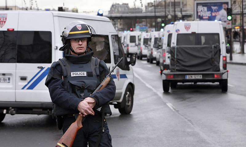 One killed , several injured in possible terror attack on French factory