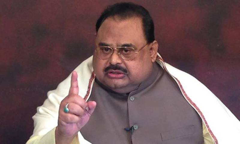 Altaf Hussain warns war in every nook and corner against his removal