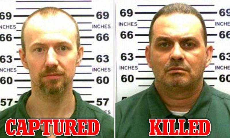 Second NY prison escapee caught alive