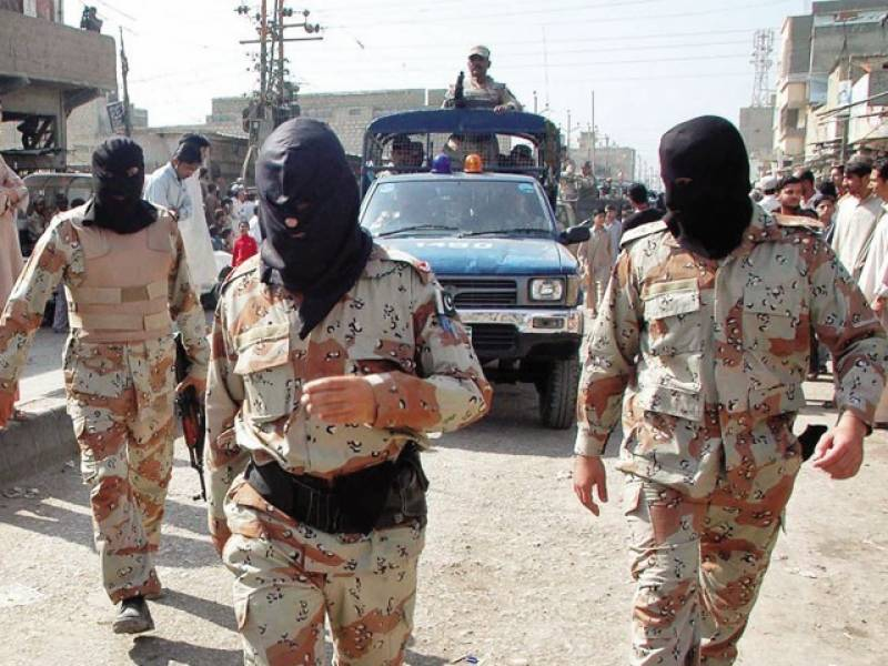 Rangers arrest 16 MQM workers for forcibly collecting Fitrana