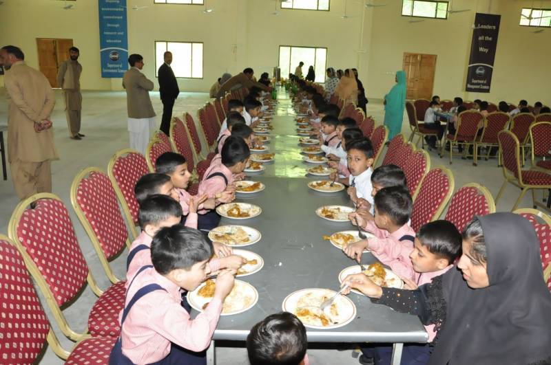 100 Sweet Home kids taken to PIMS due to food poisoning