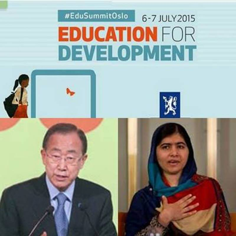 Ban stresses promotion of education for better future