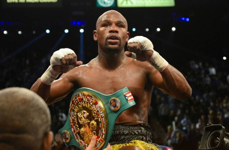 Mayweather stripped of welterwight world title