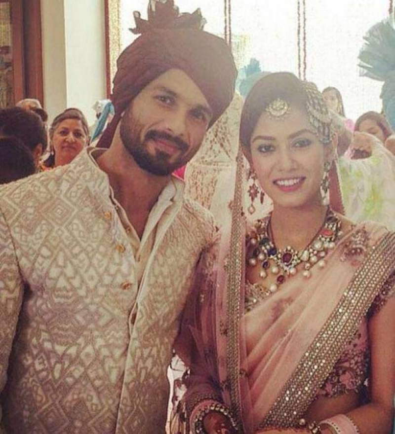 Shahid Kapoor weds Mira Rajput in Delhi