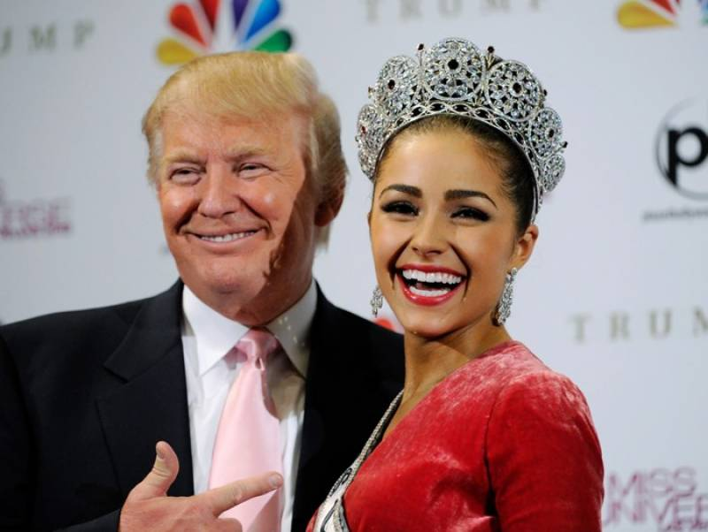 Donald Trump asks Miss Universe to give up her crown