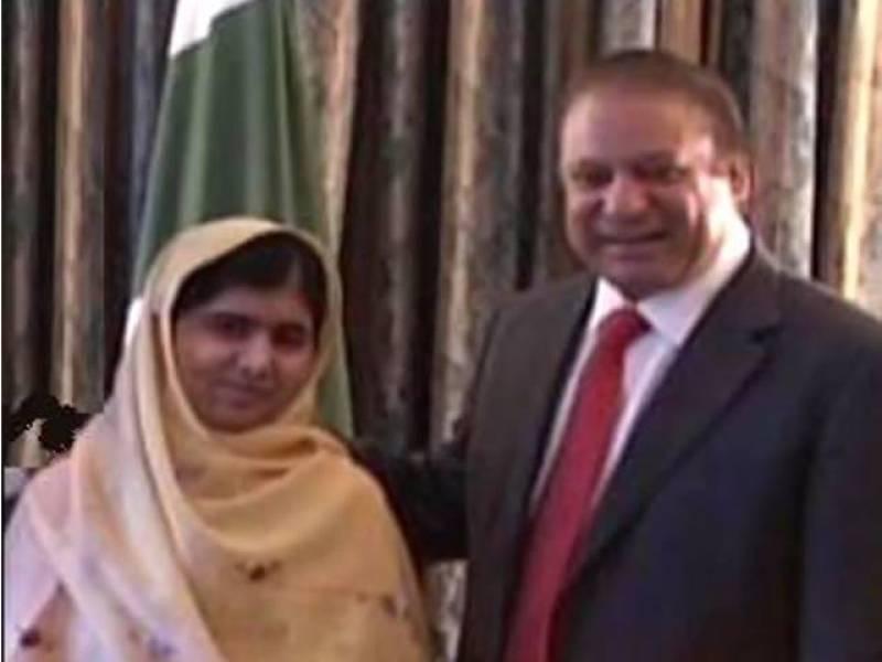 Malala calls on PM Nawaz in Oslo