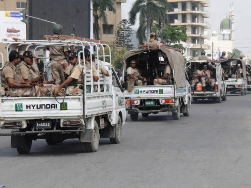 Sindh govt okays extension of Rangers powers