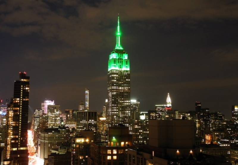 Empire State building turns green to celebrate Eid-ul-Fitr