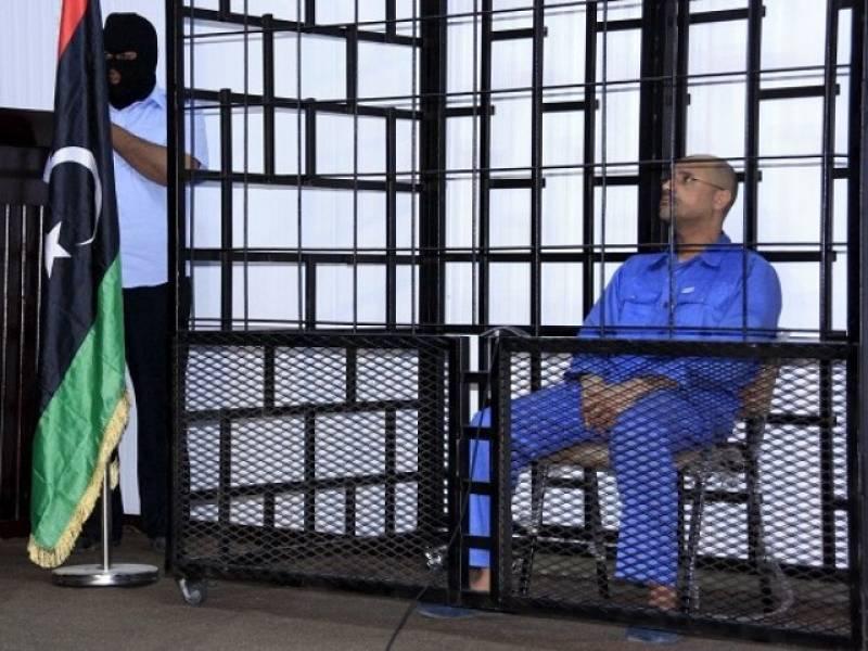 Gadhafi's son Saif al-Islam sentenced to death in Libya