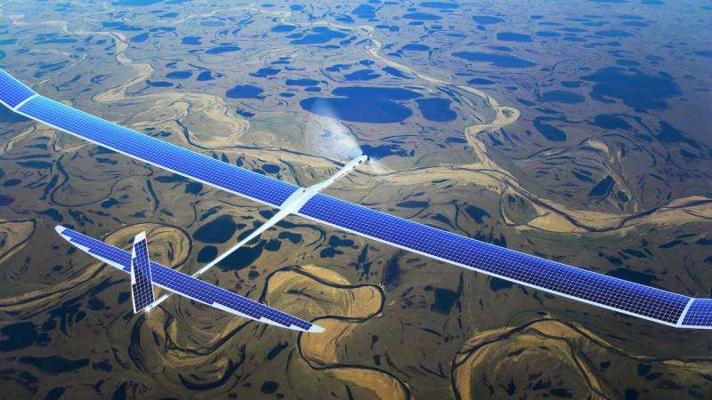 Facebook builds internet-beaming drone for remote areas