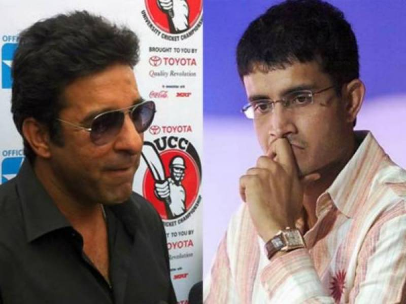 Wasim Akram disagrees with Ganguly over India-Pakistan cricket row