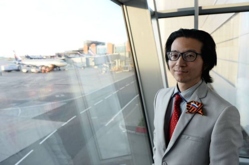 Japanese journalist living at Moscow airport for two months