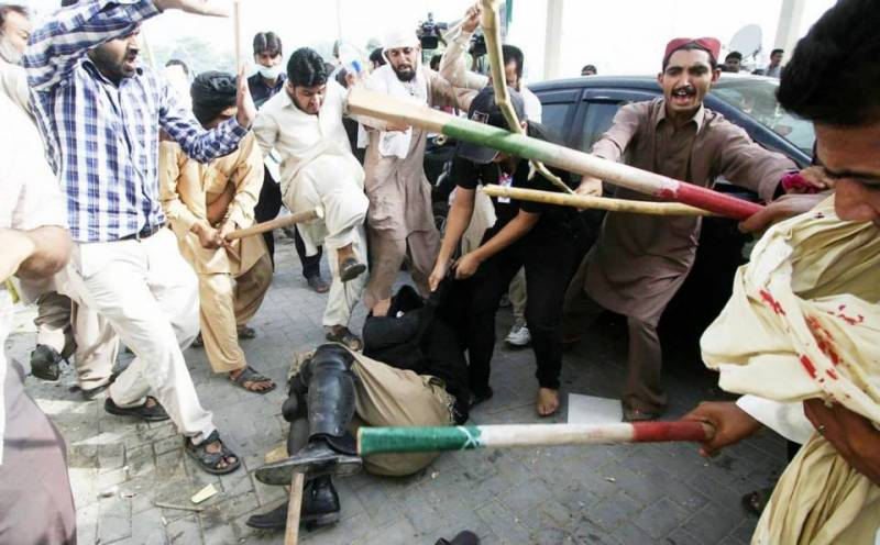One dead, 24 injured in Kasur as protesters clash with Police