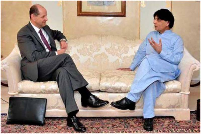 UK police will soon receive legal reference against Altaf Hussain: Nisar