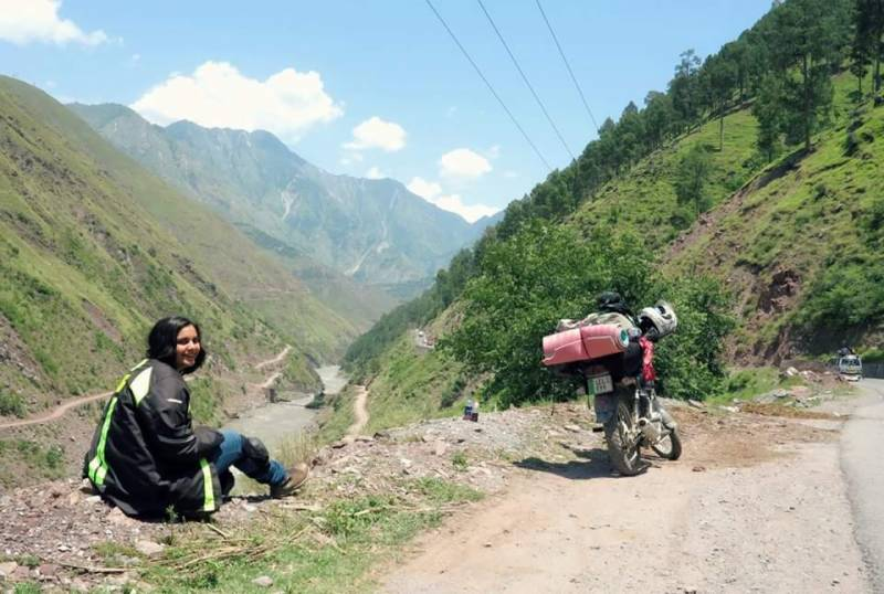 Motorcycle diary of the first Pakistani girl who dared to ride solo through northern areas