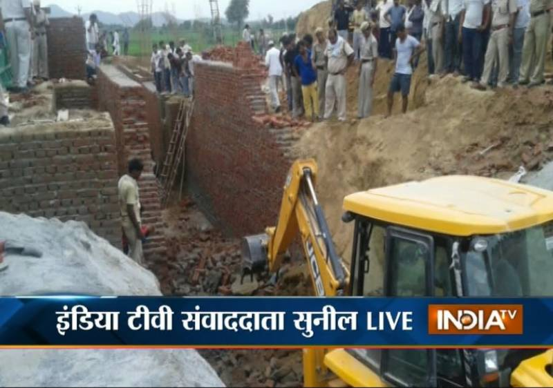 10 dead as under-construction wall collapsed in India