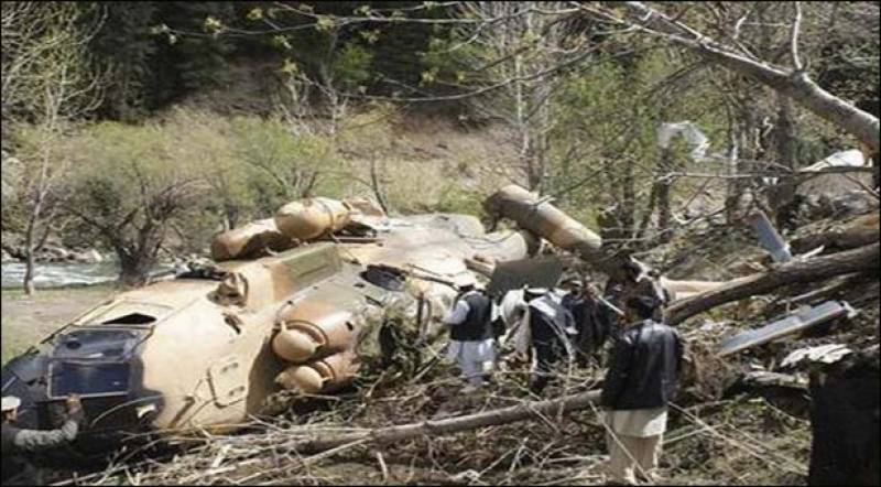 All 12 bodies recovered from crashed army relief helicopter; Op completed