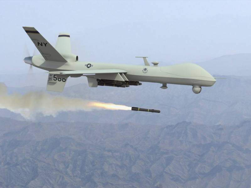 US says Assad is 'root of all evil', after launching drone strikes against Syria from Turkey