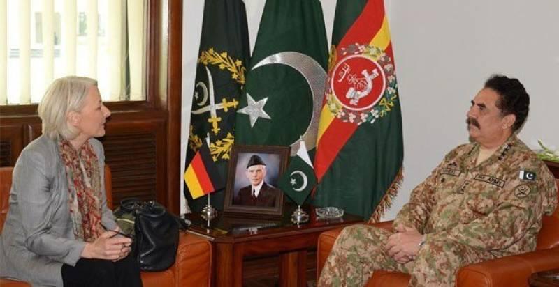 German envoy lauds Pak Army's achievements in Zarb-e-Azb