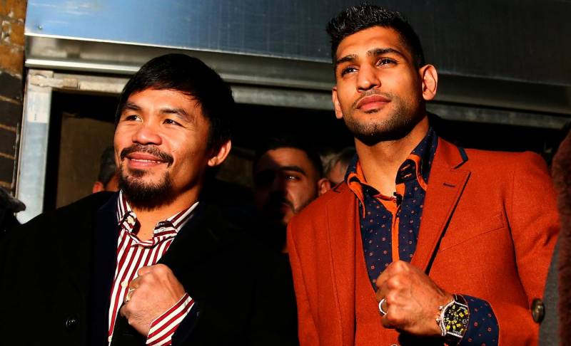 Duel in Desert: 'Amir Khan to fight Manny Pacquiao in Abu Dhabi'