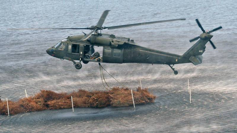 US military helicopter crashes off Japan coast
