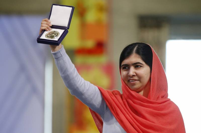 Congrats Malala! The Nobel laureate scored straight As in O-Levels