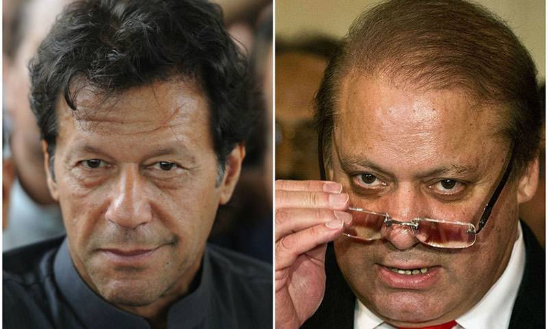 Imran Khan challenges Nawaz Sharif to contest election in NA-122
