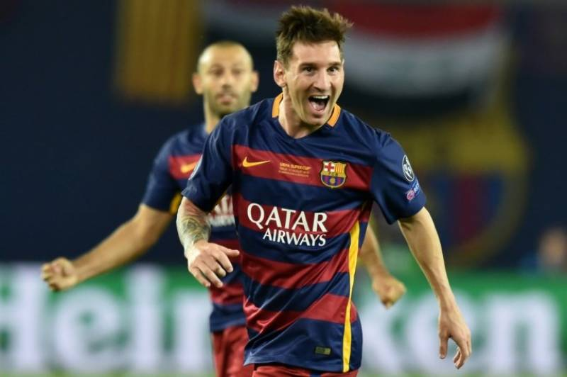 Messi voted UEFA's best player of 2014-15