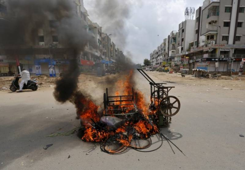 Tension grips Indian Gujarat after Patel caste deadly clashes