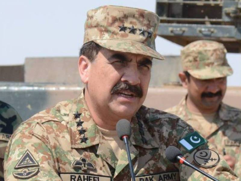 Army Chief terms Indian firing targeting civilians as cowardly act